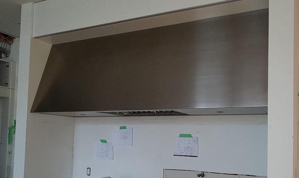 stainless steel Cooking Range Hood
